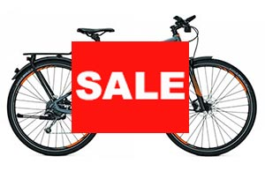 Electric bikes on sale