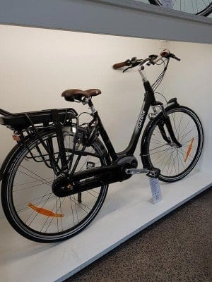 One of Melbourne Electric Bicycles' e-bikes. Come in and see our large range of electric bicycles in the store.