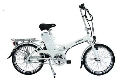 Quando folding electric bicycle