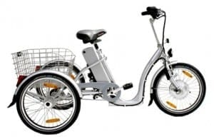 Carro electric tricycle