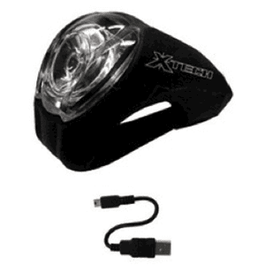 X-Tech Cyclops USB Light Combo