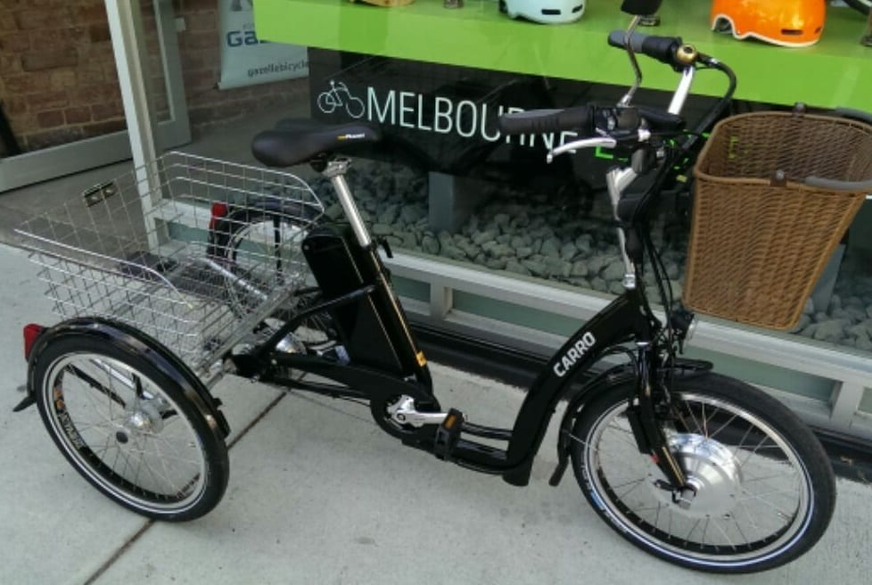 Electric tricycle Melbourne