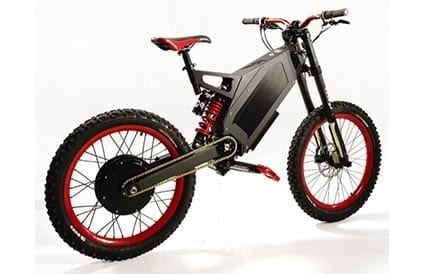 Stealth B-52 Bomber electric bike