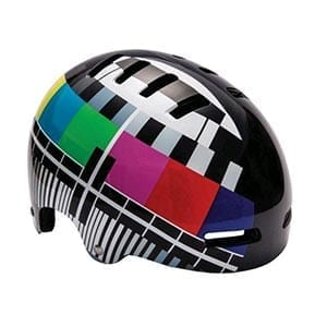 Street Helmet Test Card Black