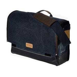 Basil Urban Fold Messenger Bag - denim colour