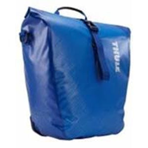 Thule large waterproof pannier cobalt blue