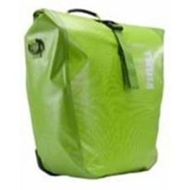 Thule large waterproof pannier fluoro green