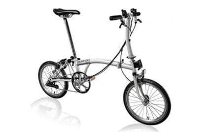 Brompton s6E folding bike