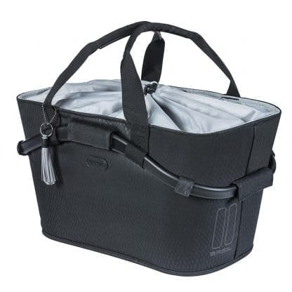 Basil Noir carry all rear basket