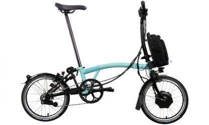 Brompton M6L electric folding bike